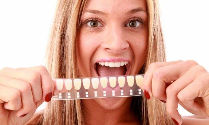 шкала vita тона зубов