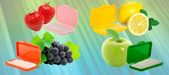воск с вкусами фруктов