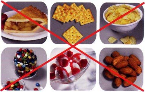 что нельзя есть при брекетах