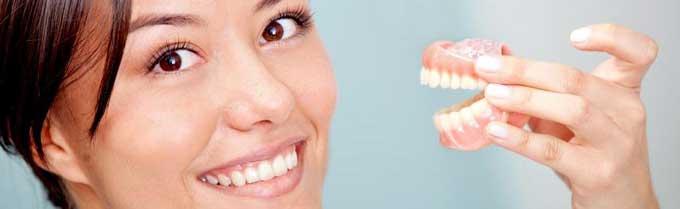 снимать ли зубные протезы