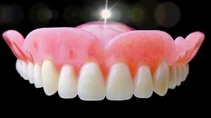 зубные протезы с мягкой подкладкой