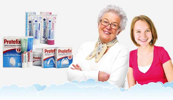 прокладки для зубных протезов протефикс