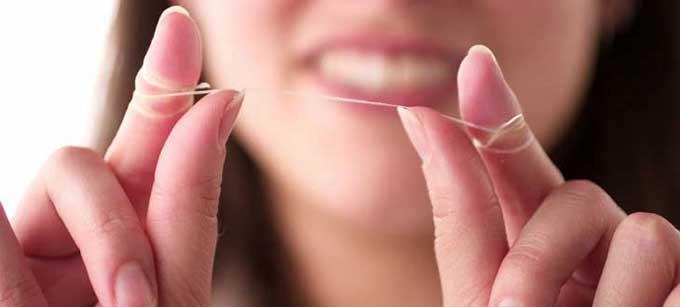 зубная нить флосс