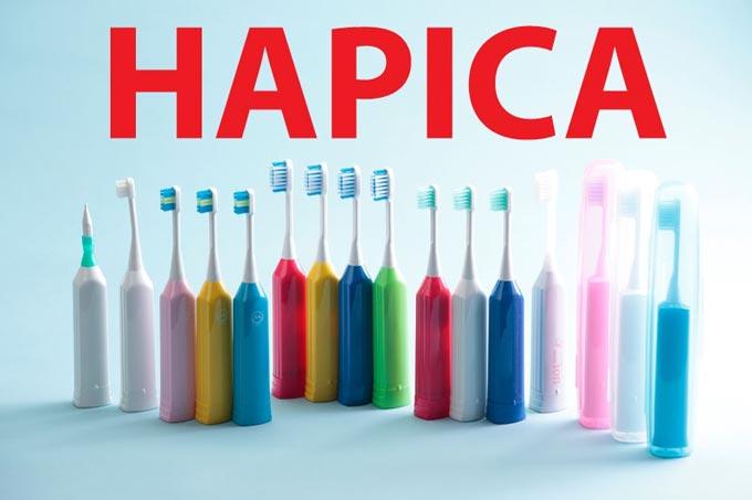ионная зубная щетка hapica