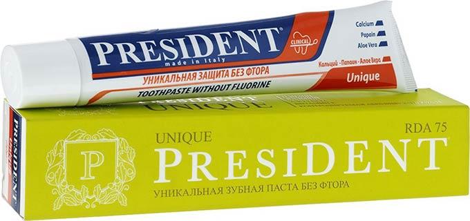 президент без фтора