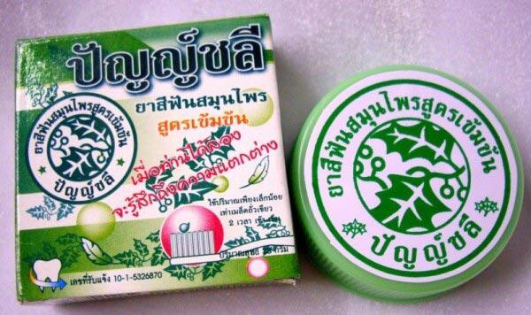 зубной порошок из тайланда