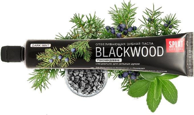 отбеливающая паста blackwood