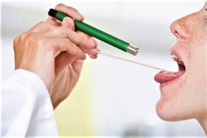 как обнаружить рак языка