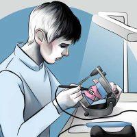 Профессия зубного техника сродни творчеству