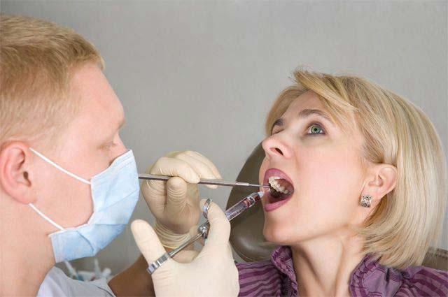 анестезия нижней челюсти