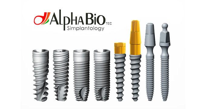 виды имплантов AlphaBio