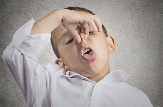 галитоз у ребенка